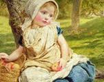 Картина по номерам С. Ж. Андерсон Милое Дитя (высо
